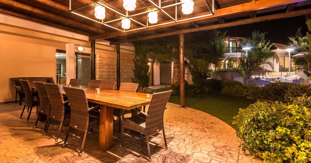 BBQ Area in private villa