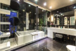 Modern bathrooms in holiday villas Paphos