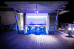 Roof Terrace for parties in Holiday Cyprus villas