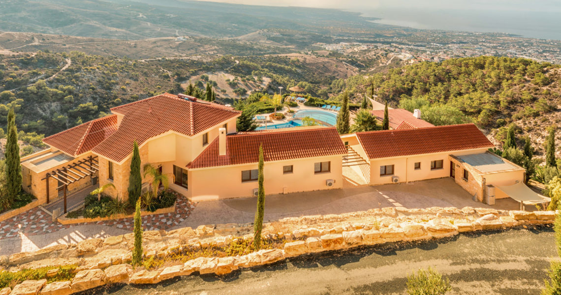 Large family villa in Paphos